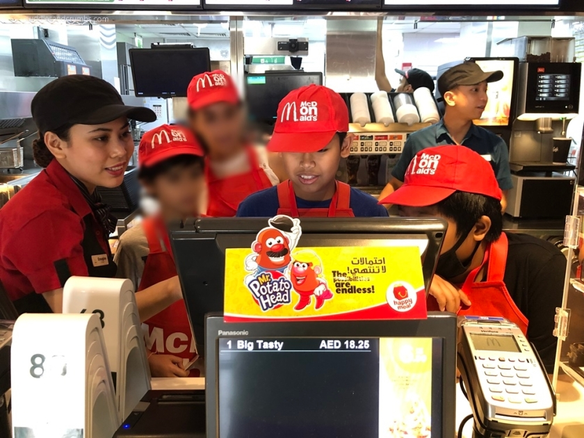 McDonalds UAE Mini Crew Camp